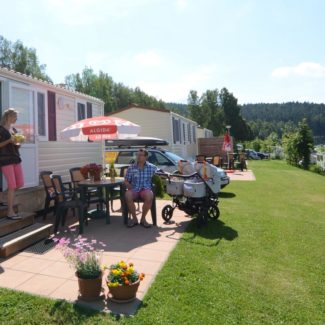 Camping Resort Frymburk - mobile homes