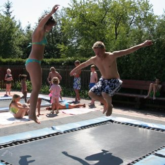 Camping Oase Praha - trampolines